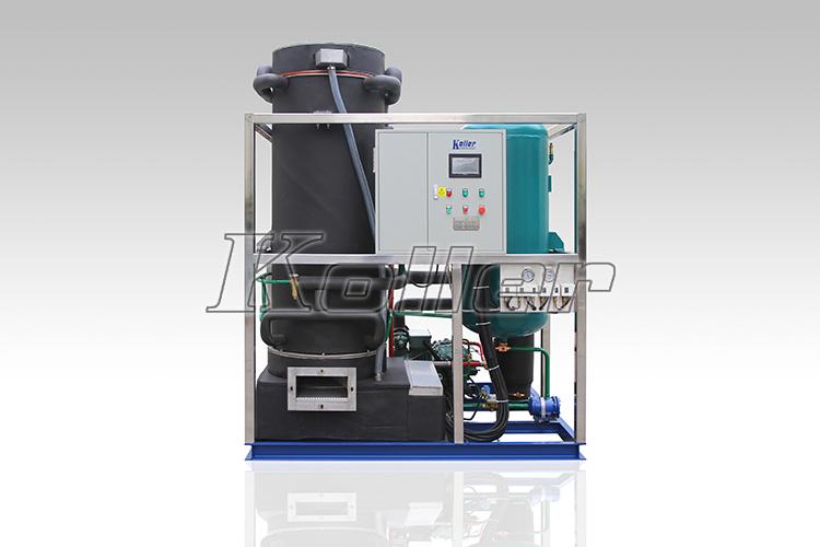 koller管冰机tv100  详细说明   科勒尔大型使用管冰机结构及工作原理
