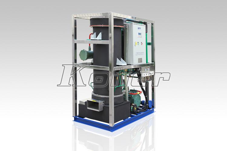 高产量 性能稳定               科勒尔管冰机结构及工作原理:     管